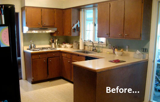 painted black kitchen cabinets before and after antes e depois afe 24346