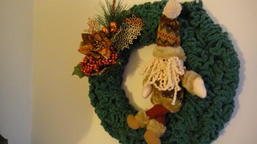 DIY - PAP - Como fazer Guirlanda de Natal em Croche