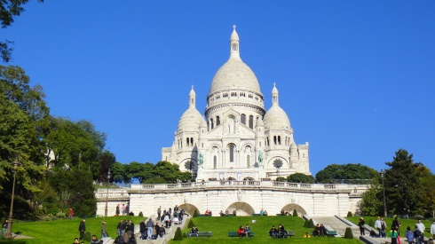 La Basilique du Sacré Coeur de Montmartre - Paris
