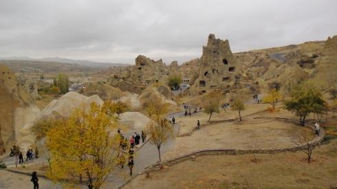 Museu a céu aberto em Goreme, Capadócia - Turquia