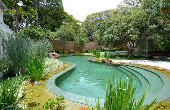 piscina natural em casa afe maria